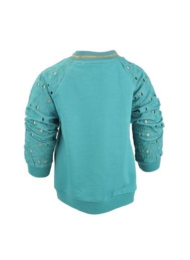 Mininio Yeşil Grow Free Dantelli Kollu Sweatshirt (9ay-4yaş) Yeşil Grow Free Dantelli Kollu Sweatshirt (9ay-4yaş) Yeşil